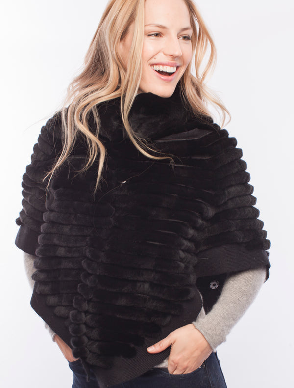 Signature Snap Sleeve Poncho