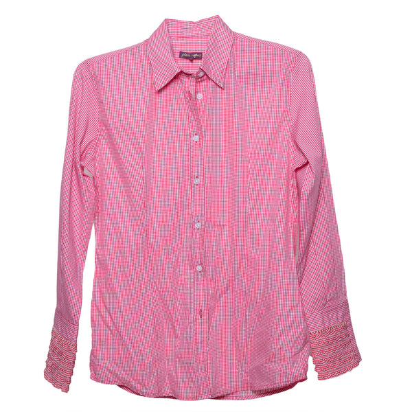 Beachcomber Shirt Red Gingham