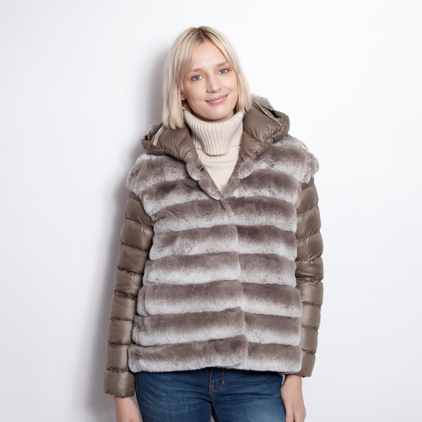 Taupe Snowtop Parka