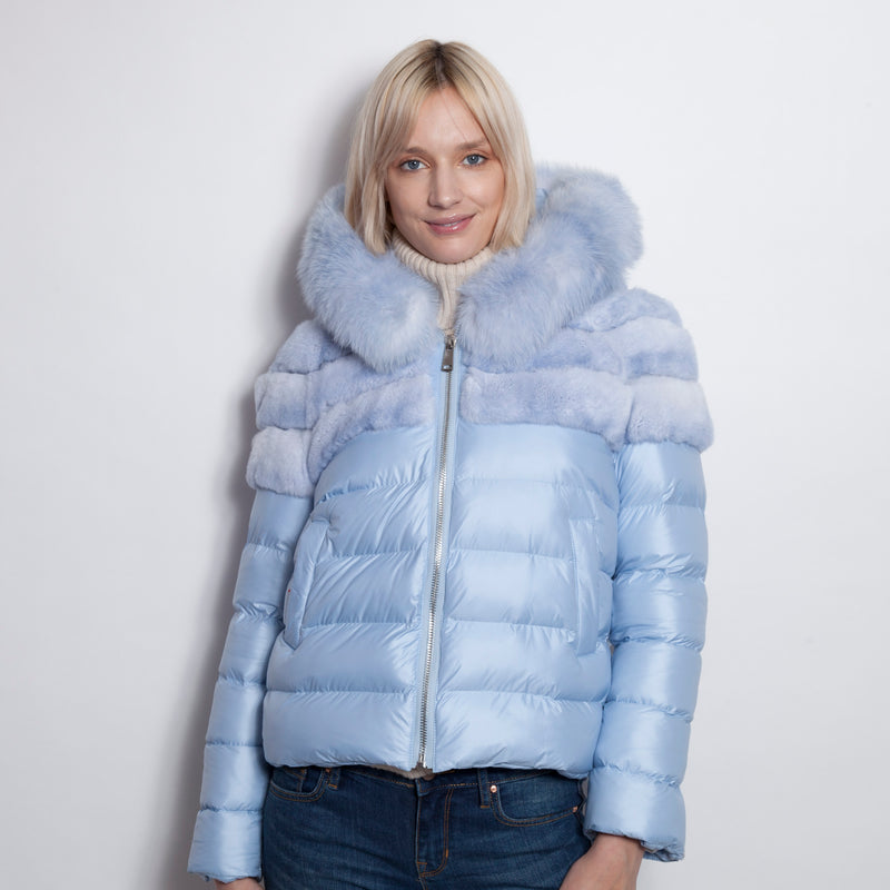 Blue Bell Parka With Hood