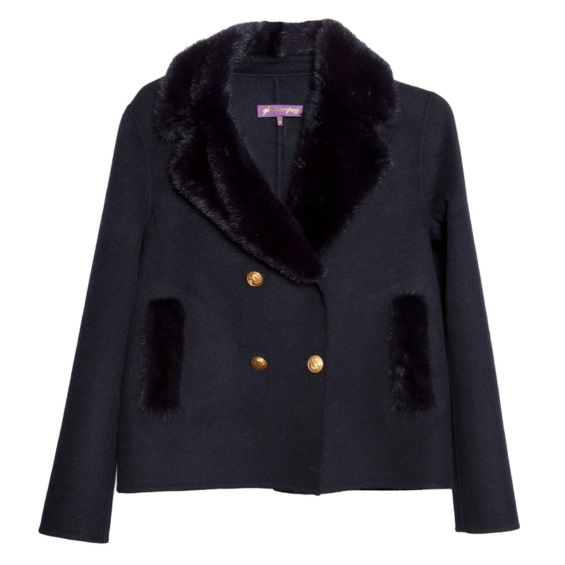 Glam Pea Coat (Pre-Order for a 30% discount till Sept 30th)