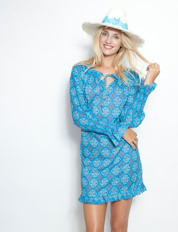 Sardina Smock Sleeve Dress