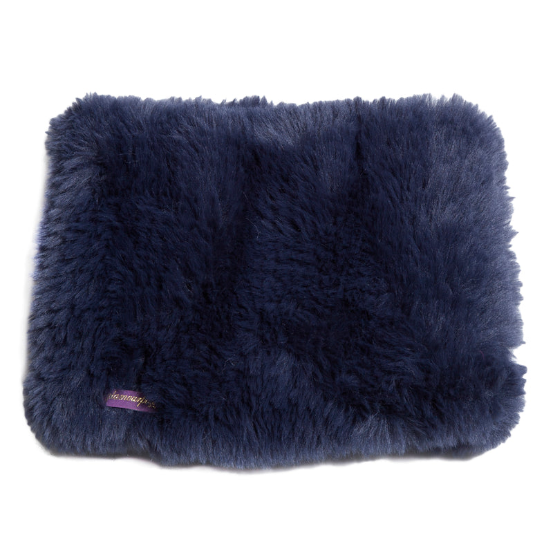 Signature Knitted Faux Fur Funnel