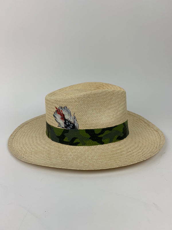 Custom Glamourpuss Panama Hat X Corroon