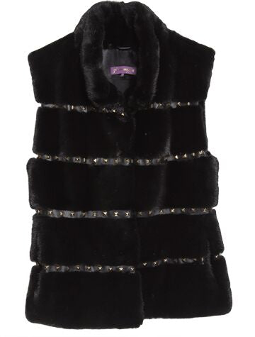 Signature Stud Vest (Black)