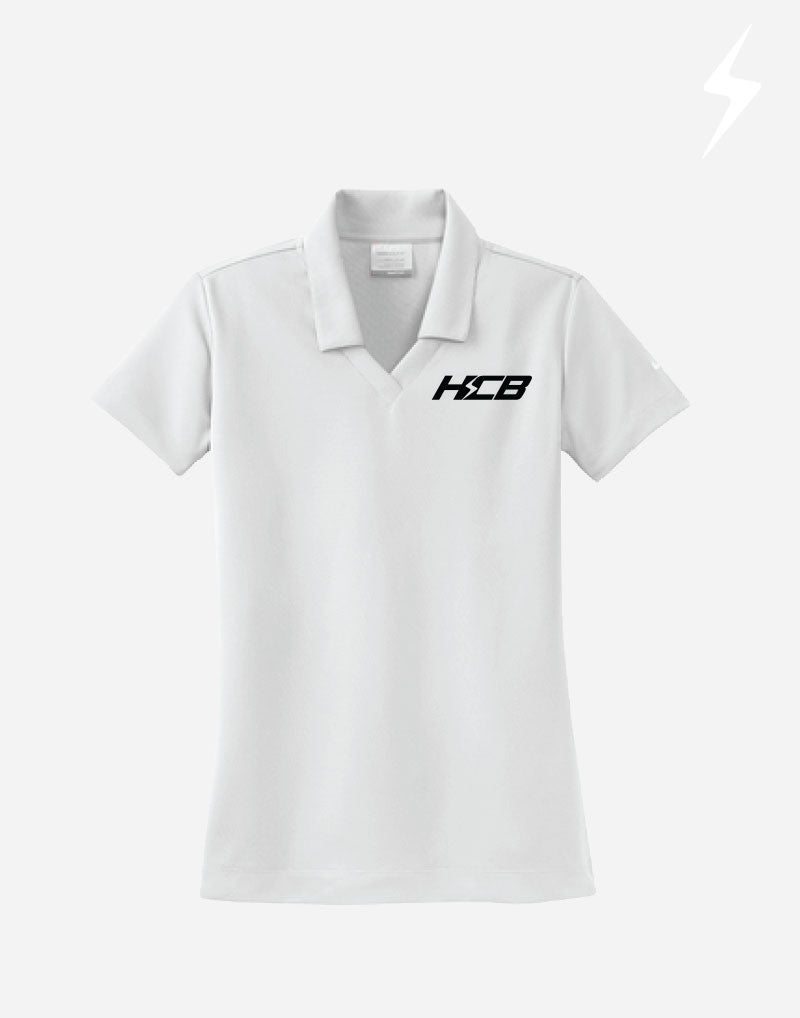 Ladies Nike V-Neck Embroidered Polos