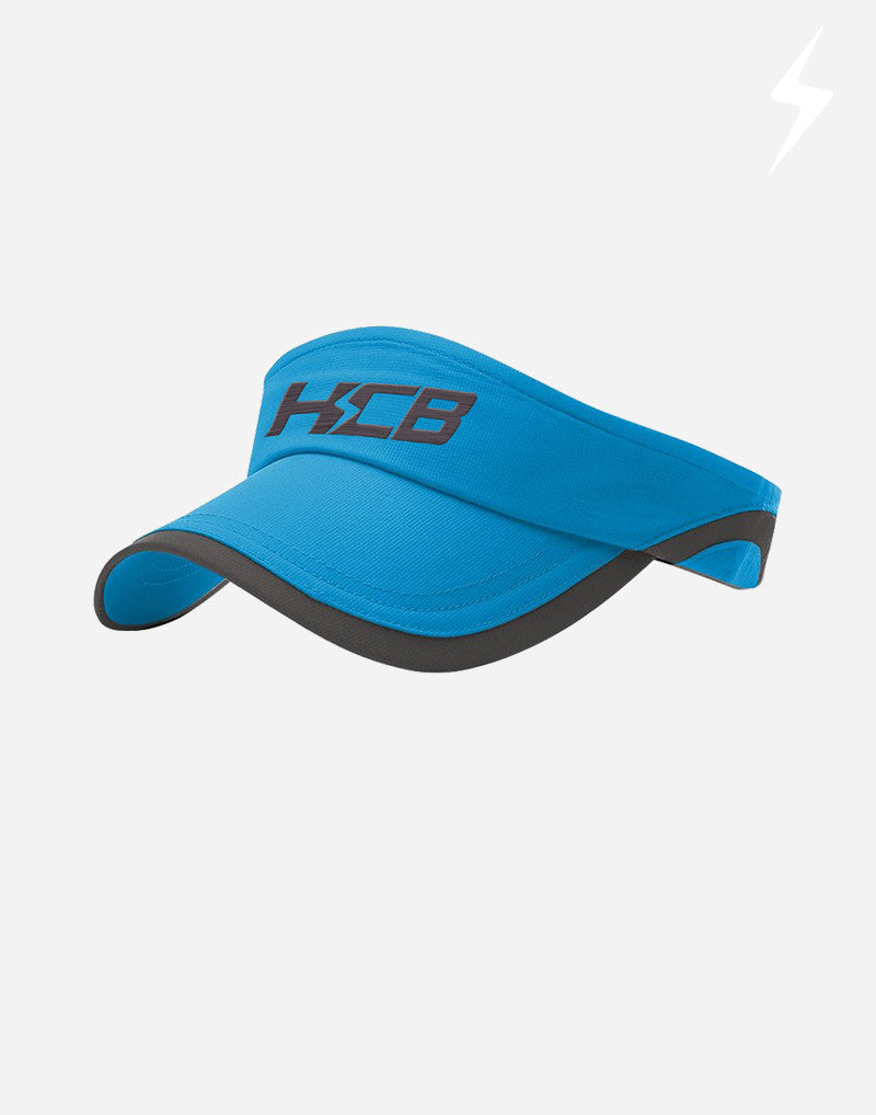 HCB Signature Logo Visor in Charcoal