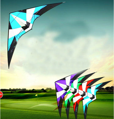 high quality 1.8m Power Professional Dual Line Stunt Kite With Handle Line storm kite Factory albatross kite