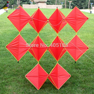 Outdoor Fun Sports 3D Red Ten Pieces Diamond Good Flying