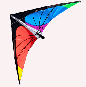 Outdoor Fun & Sports New Arrive 63 Inch High Quality Power Double Tail Plane Kite With Handle Line Kites For Kids Easy To Fly Kites & Accessories