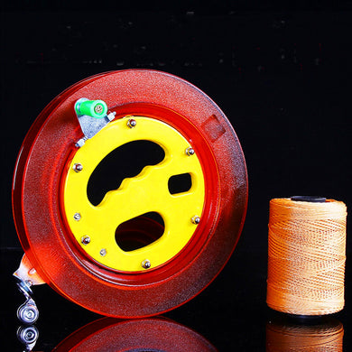 High quality 22cm crystal kite reel with 400 m line outdoor toys kite flying large kite wheel