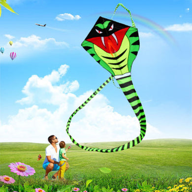 30m Tail Snake Kite Cobra Kite With Kite Hand Line  Outdoor Fun Sports toy Easy To Fly