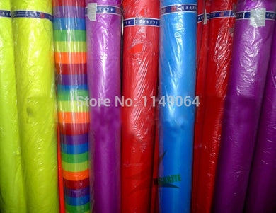 High quality 10m x1.5m ripstop nylon fabric various colors choose 400inch x 60in kite fabric ripstop hcxkites