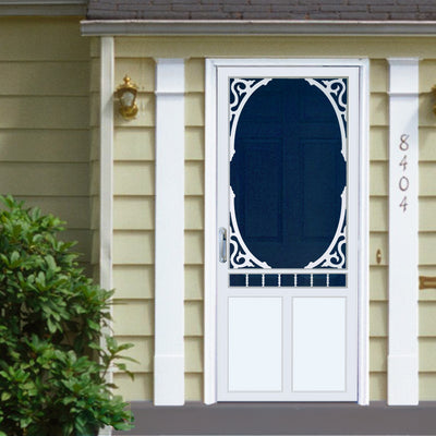 Brookside Vinyl Screen Door