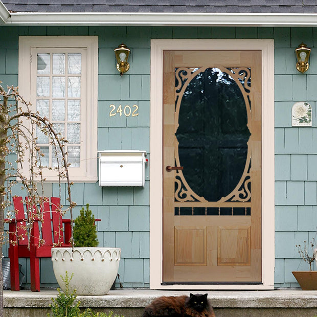 Clarington Wood Screen/Storm Door
