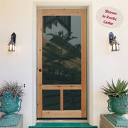 Cottager Wood Screen/Storm Door