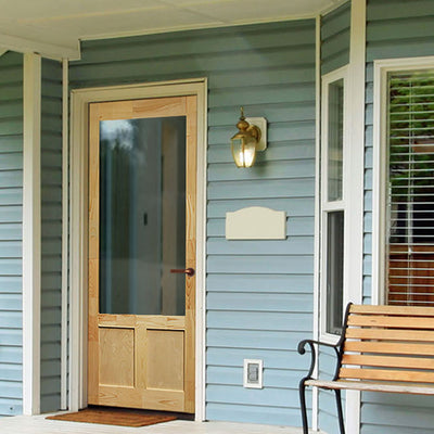 Elmwood Wood Screen/Storm Door
