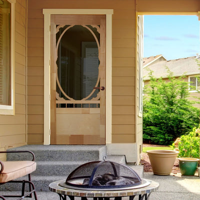 Homestead Wood Screen/Storm Door