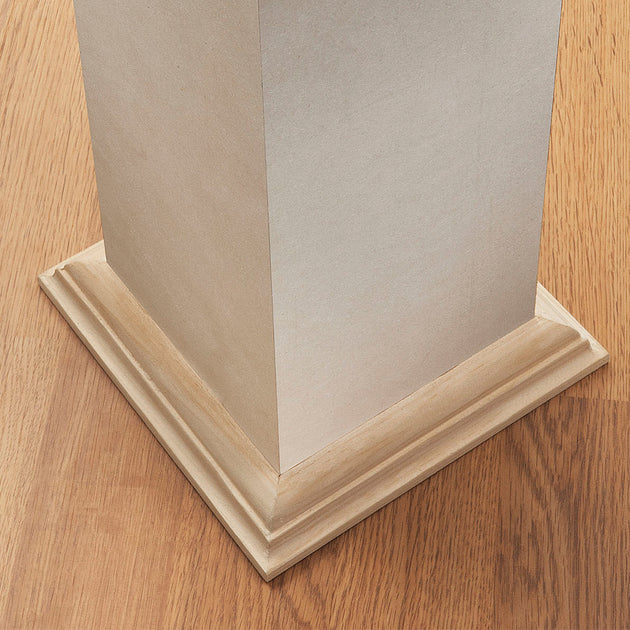 Mdf Post Cover Square Plain Amherst Mouldings