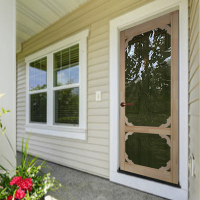 Lakeside Wood Screen/Storm Door