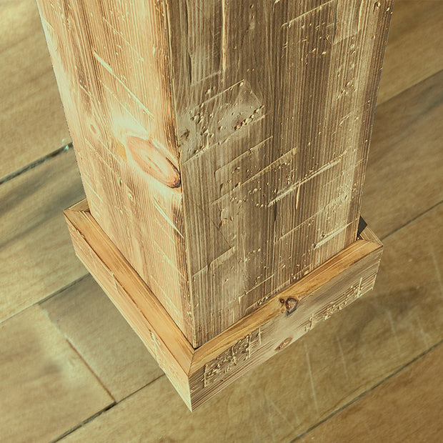 RTA Post Cover - Hand Hewn Timber