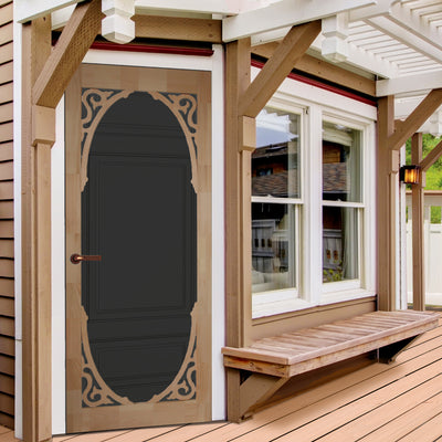 Strathburn Wood Screen Door