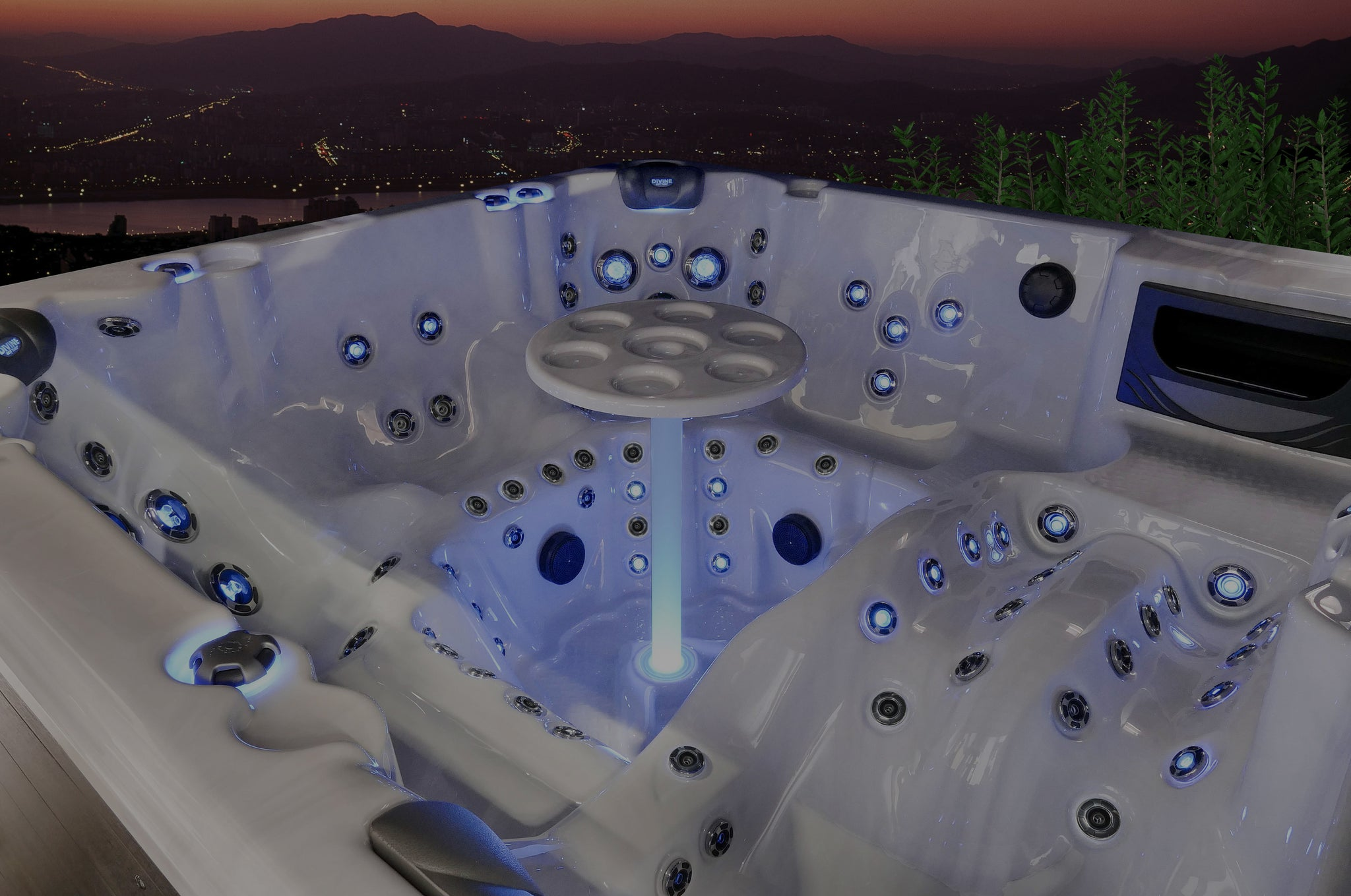 Divine Hot Tubs. Buy Online - Get Curbside Delivery FREE!!