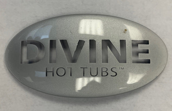 Pillow: Logo Insert - Divine-Hot-Tubs - Divine Hottubs - Spas