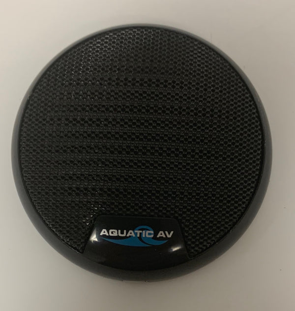 "Speaker: 2"" Black Cover - Aquatic AV #AQ-SPG2.0-BLK - Divine-Hot-Tubs - Divine Hottubs - Spas"