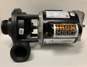 Pump: Circ- Iron Might 230v #3410020-1E98 - Divine-Hot-Tubs - Divine Hottubs - Spas