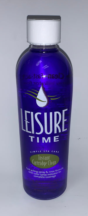 Leisure Time: Instant Cartridge Clean, 16 Ounces - Divine-Hot-Tubs - Divine Hottubs - Spas