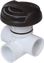 Valve: Diverter Assembly - Waterway #600-7698L-DSG - Thermal Hydra Plastics