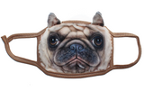 Pug Mask - Dog Face Protector