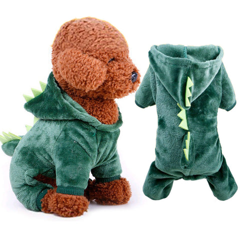 Godzilla Lizard Pet Costume Green