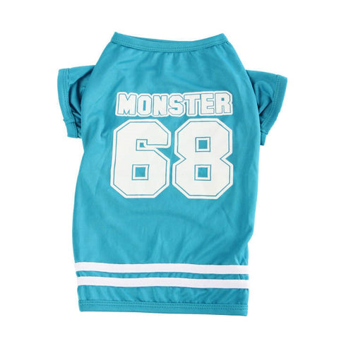 Sassy Mönster Quarterback Pet Jersey