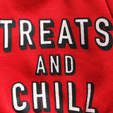 Treats & Chill Pet Sweater