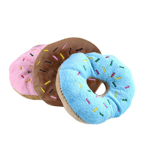Doggy Donut Plush Toy