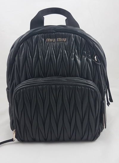 Miu Miu Matelassé Backpack