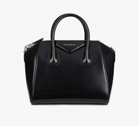 Givenchy Antigona Small Black Leather Bag