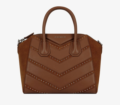 Givenchy Small Antigona Cognac Handbag