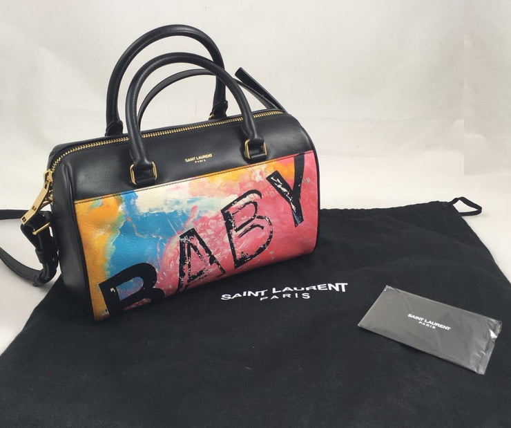 Saint Laurent Duffle Small Baby Tote Bag