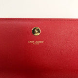 Saint Laurent Cassandre Leather clutch