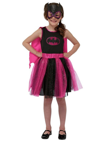 Batgirl Children's Fancy Dress Costume - 5-6 Years