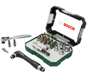 Bosch Double Ended Screwdriver And 26 Piece Bit Set
