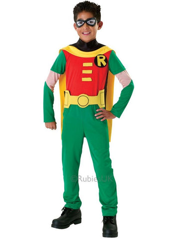 Child's Robin Fancy Dress Costume - Large