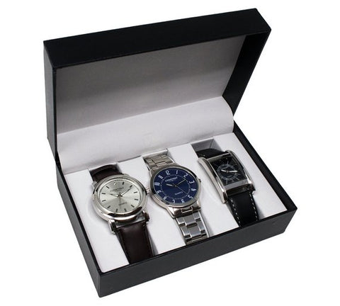 Constant Men's Set Of 3 Watches
