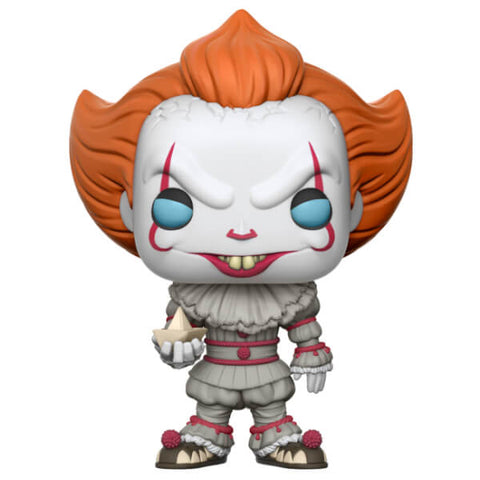 IT PENNYWISE WITH BOAT POP! VINYL FIGURE