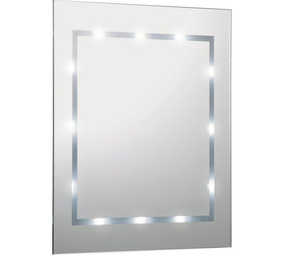 Illuminated Bathroom Mirror