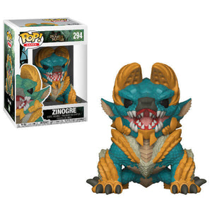 MONSTER HUNTER ZINOGRE POP! VINYL FIGURE