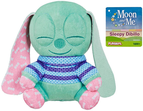 Moon and Me 20cm Soft Toy - Sleepy Dibillo Plush